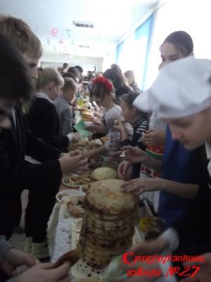 У школі - свято Масляни !