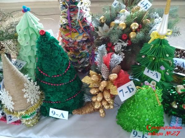 Новорічна виставка-конкурс «Букет замість ялинки»