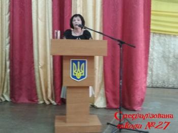 Творчий звіт директора школи Мітковської Ірини Анатоліївни