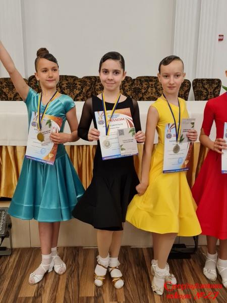 Вітаємо переможців    танцювального конкурсу Ukrainian Open Cup 2021