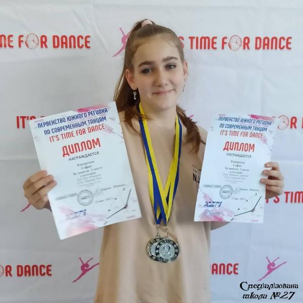 Вітаємо переможців Першості південного регіону «It's time for dance»