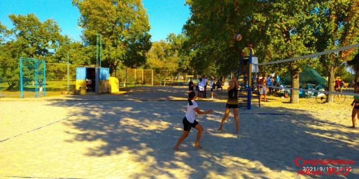 Вітаємо команду міських змагань з волейболу пляжного!