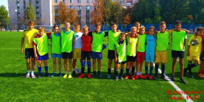 Вітаємо переможців міської фінальної гри футбольного турніру!
