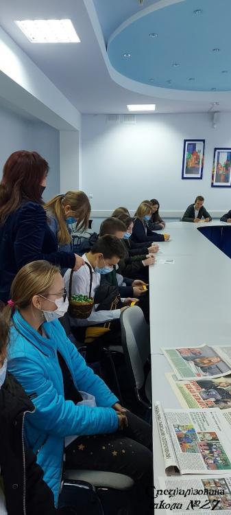 Учні школи в гостях у ХКЕПК