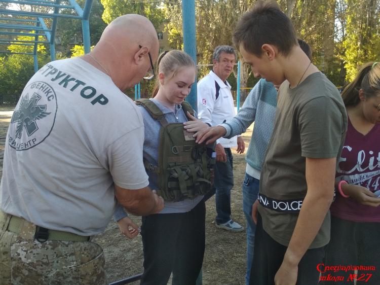 Робота військово- патріотичного клубу у школі